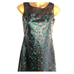 Black and green fancy dress